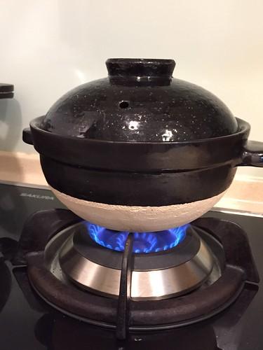 土鍋白米飯